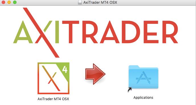 MT4 Mac App Folder