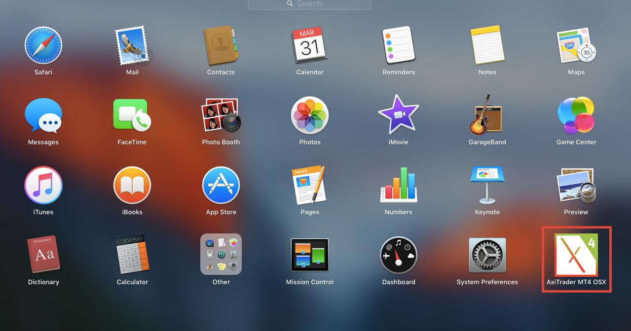 MT4 Mac OSX